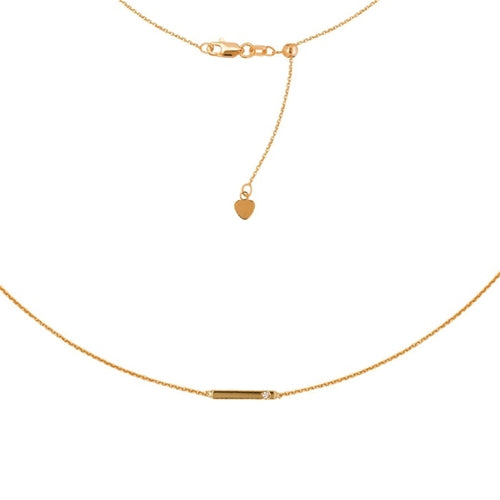 Mini Bar Diamond Choker-Choker-Milano DG