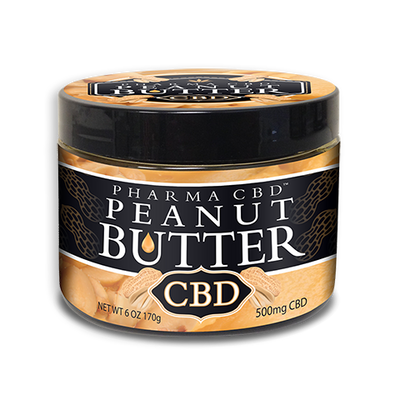 CBD Peanut Butter 500mg - By Pharma - Nirvana Naturals CBD