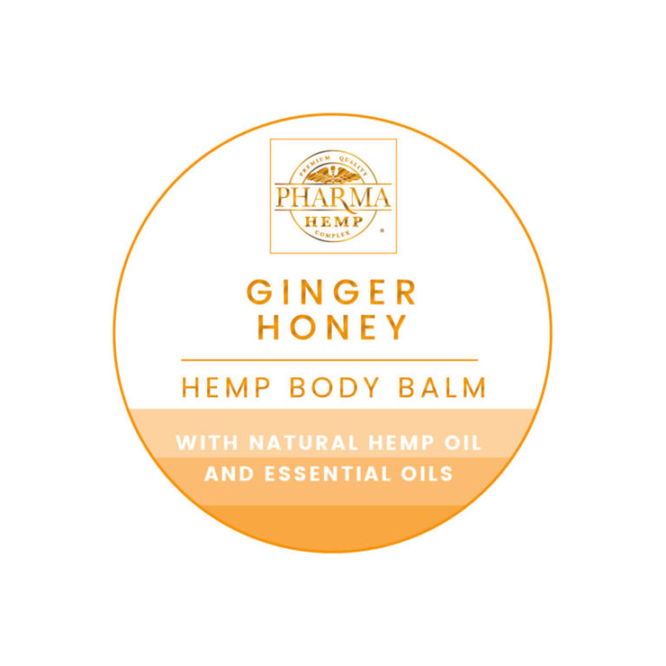 Ginger Honey Hemp Body Balm By Pharma - Nirvana Naturals CBD