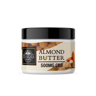 Almond Butter 500mg CBD - By Pharma - Nirvana Naturals CBD