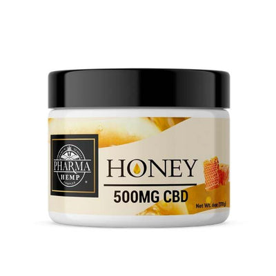 Hemp CBD Oil Honey 500mg - By Pharma - Nirvana Naturals CBD