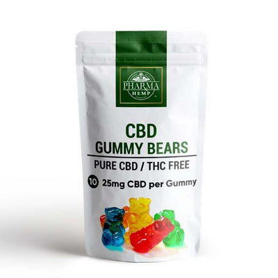 CBD Gummy Bears By Pharma - Nirvana Naturals CBD
