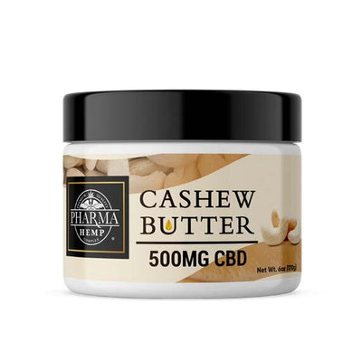Cashew Butter 500mg CBD - By Pharma - Nirvana Naturals CBD