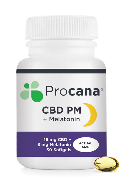 CBD PM Night-Time Soft Gel - By Procana - Nirvana Naturals CBD