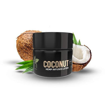 Hemp Infused Lotion - Coconut - By GRN - Nirvana Naturals CBD