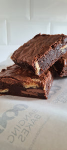 Triple Chocolate Brownie (Box of 4) - Banging Bakes