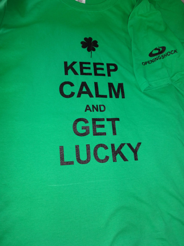 KEEP CALM & GET LUCKY