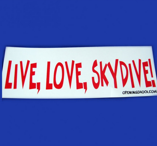 LIVE, LOVE, SKYDIVE!