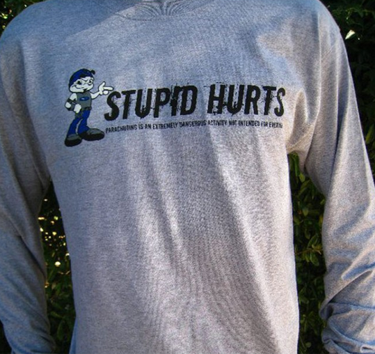 STUPID HURTS ~ Long Sleeve