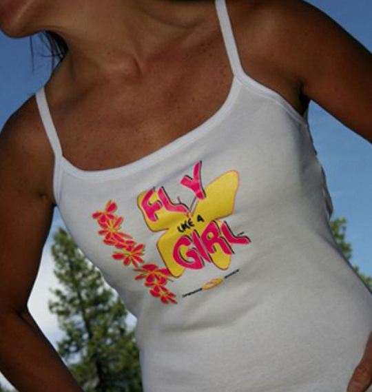 FLY LIKE A GIRL ~ Spaghetti Tank