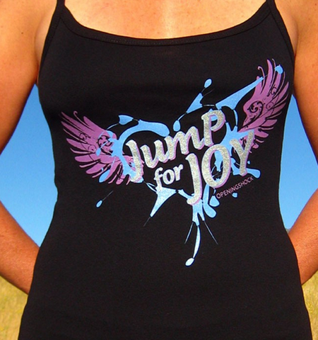 JUMP FOR JOY ~ Spaghetti Tank