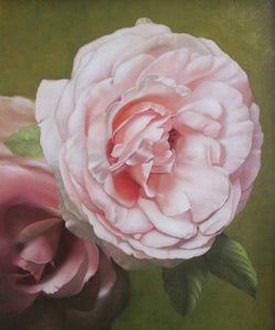 Two roses - The Arts Inn Fine Art Gallery