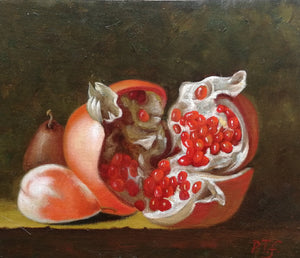 Pomegranate - The Arts Inn Fine Art Gallery