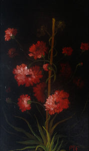 Red carnations - The Arts Inn Fine Art Gallery