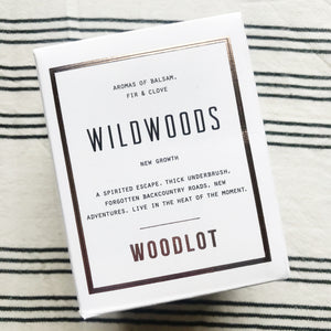 WOODLOT CANDLE WILDWOODS