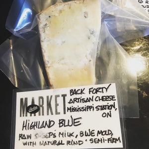 BACK FORTY HIGHLAND BLUE
