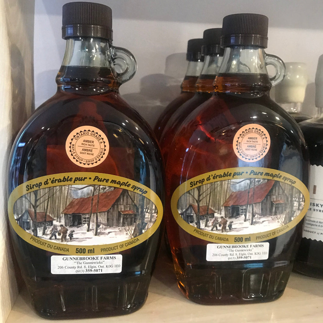 Gunnebrooke Farms Maple Syrup