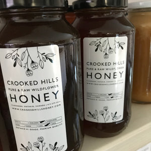 CROOKED HILLS HONEY (GOLDEN)