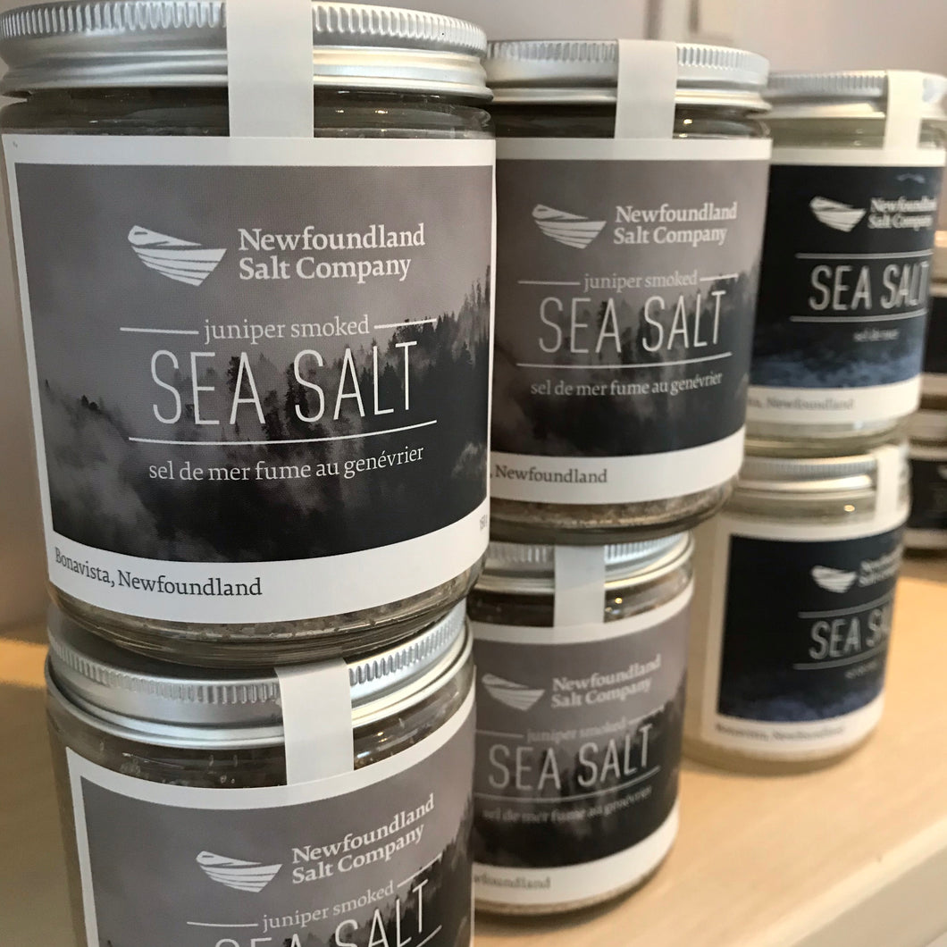 JUNIPER SMOKED SEA SALT NEWFOUNDLAND