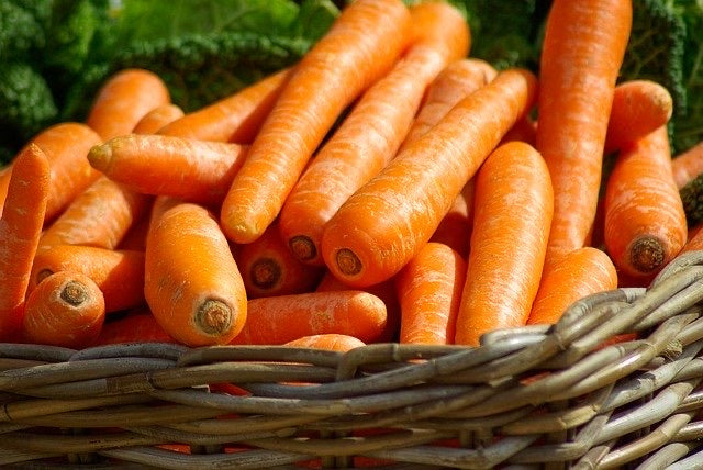 TOP-UP Fresh Harvest Carrots