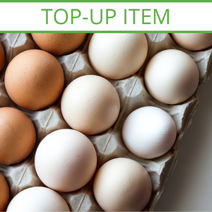 TOP-UP Fresh Free Range Jumbo Eggs Tray