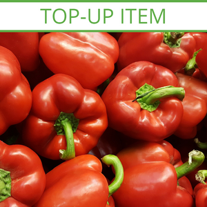 TOP-UP Large Red, Yellow, Orange & Green Capsicum