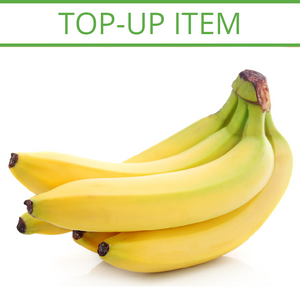 TOP-UP Fresh Firm Bananas