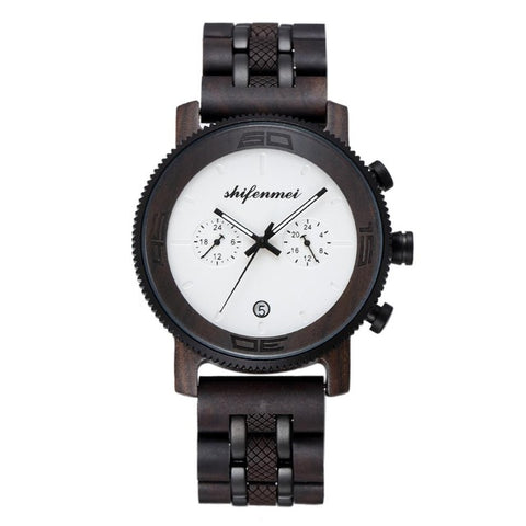 Reloj madera SHIFENMEI - Woody watchs