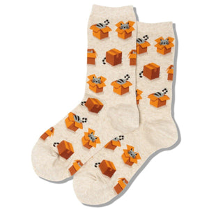 Women's Sock Cats in Boxes - Leon & Lulu - Shop Now