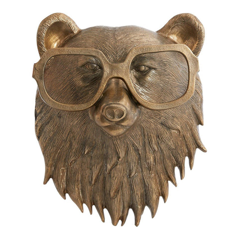 Wall Mount Beatrice Brass Bear - Leon & Lulu - Shop Now