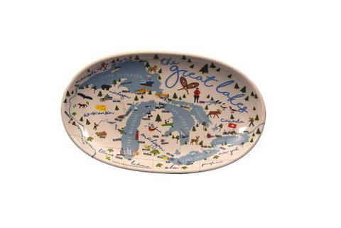 Great Lakes Tidbit Tray - Leon & Lulu