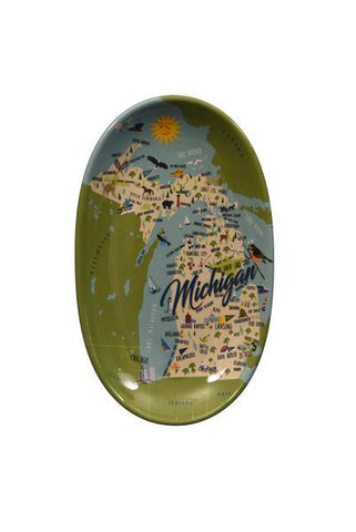Michigan Tidbit Tray - Leon & Lulu - Shop Now