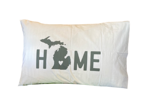 Pillow Case Michigan - Leon & Lulu