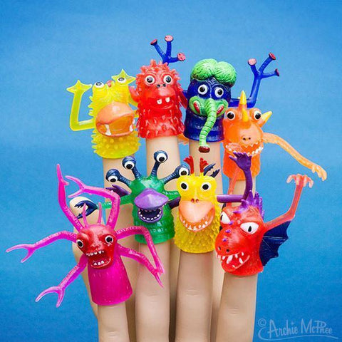 Finger Puppet Monster - Leon & Lulu