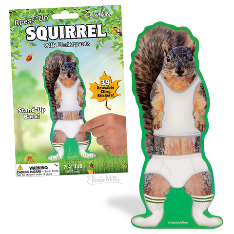 Squirrel Dress Up - Leon & Lulu