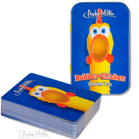 Rubber Chicken Playing Cards - Leon & Lulu