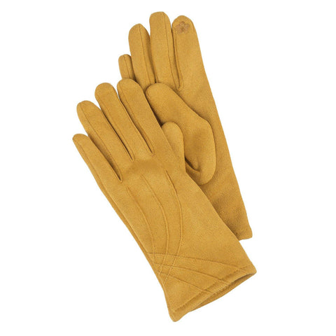 Texting Glove Yellow - Leon & Lulu - Shop Now