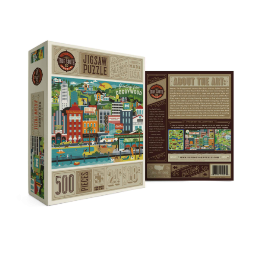 Puzzle Doggywood 500pc