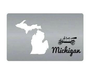 Michigan Card Bottle Opener - Leon & Lulu