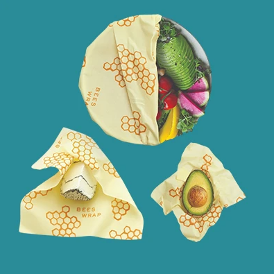 Bees Wrap Set of 3 Asst S/M/L - Leon & Lulu - Shop Now