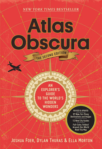 Atlas Obscura 2nd Edition - Leon & Lulu - Shop Now