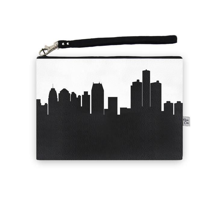 Detroit Leather Wristlet - Leon & Lulu - Shop Now