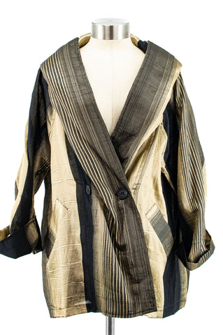 Shimmer Stripe Jacket