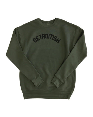 Detroitish Unisex Crewneck Sweatshirt (More Colors)