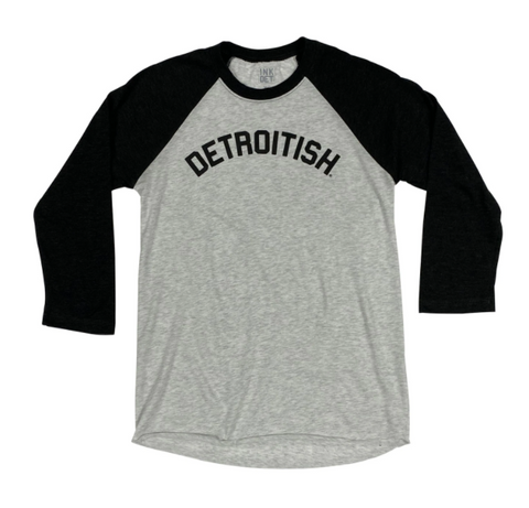 Detroitish Baseball Tee - Leon & Lulu - Shop Now