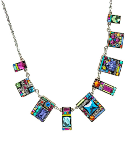 Geometric Necklace MC - Leon & Lulu
