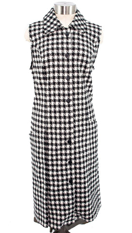 Houndstooth Woven Vest - Leon & Lulu - Shop Now