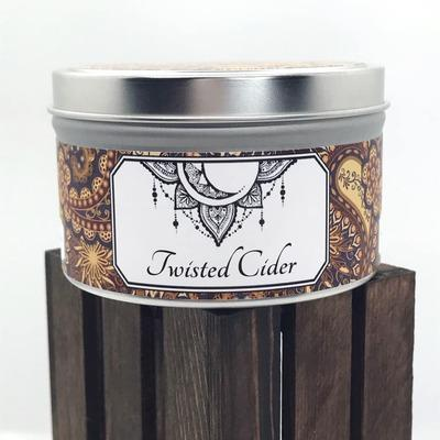Twisted Cider 4oz Tin - Leon & Lulu