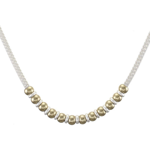 Necklace Wide/Narrow Bead - Leon & Lulu