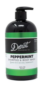 Shampoo/Body Wash Pep 16oz - Leon & Lulu
